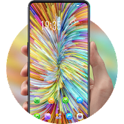 Abstract Color Bar Classic 2019 phone theme
