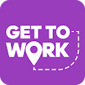 GetToWork - Reliable office commute cab service icon