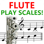 Flute Play Scales