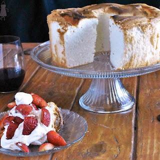 Angel Food Cake and the Secret to Strawberries.