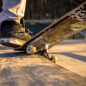 Sunset Crooked by Pete Jones - Sports & Fitness Skateboarding