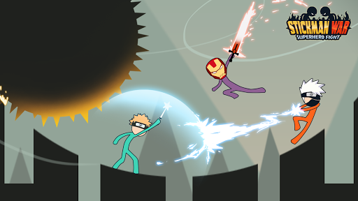 Stickman War - Super Hero Fight  captures d'écran 1