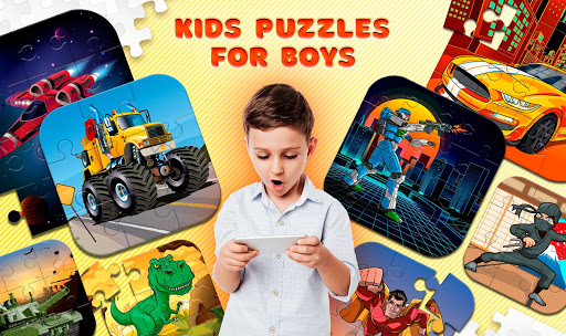 Kids Puzzles for Boys apkdomains screenshots 1
