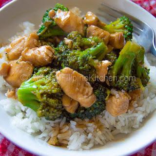 Teriyaki Chicken Broccoli