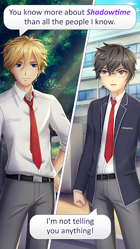 (APK) تحميل لالروبوت / PC Anime Love Story Games: ✨Shadowtime✨ ألعاب screenshot