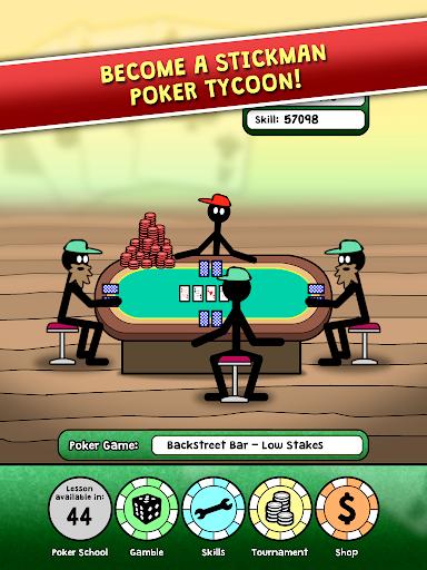 Stickman Poker Tycoon 1.3 screenshots 1