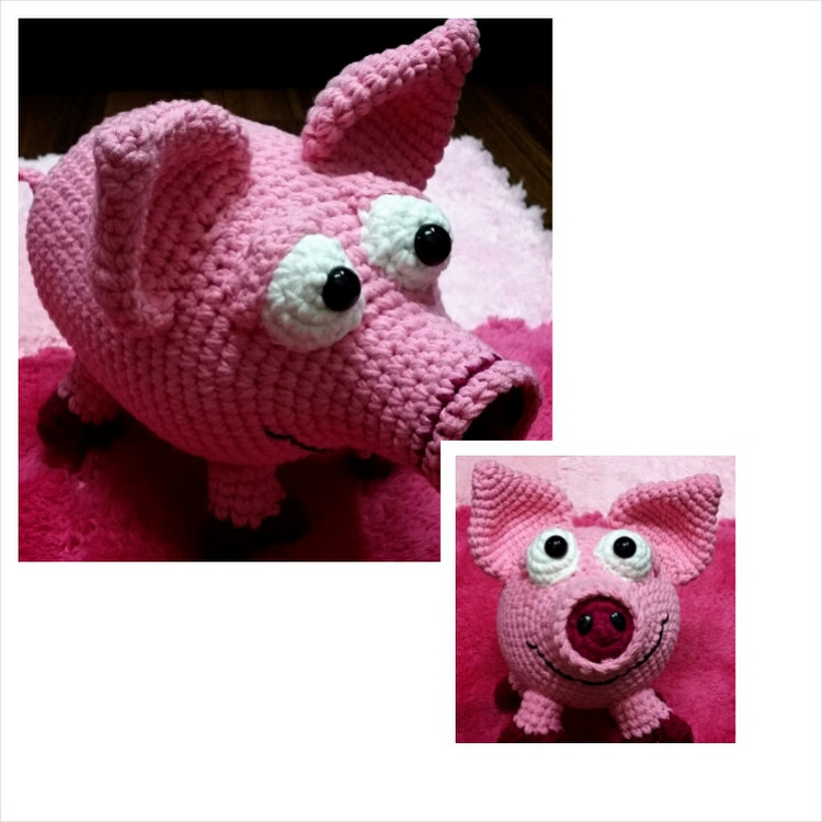 Pink Piggy by Bling365Days