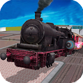 Flying Train Rush Simulator 3D