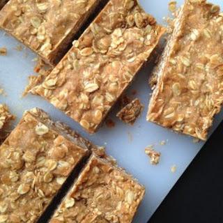 Easy No-Bake Peanut Butter Oat Bars.