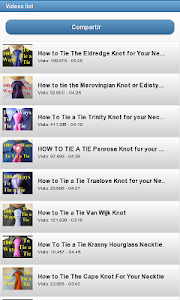 How to make a tie knot screenshot 2