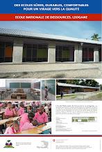 Photo: Poster de l'école de Dessources à Leogane