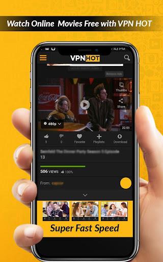Super Fast Hot VPN-Free Vpn Proxy Master Lite VPN 1.5 screenshots 7