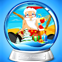 Funny Santa Photo Frames icon