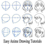 Easy Anime Drawing Tutorials APK icon