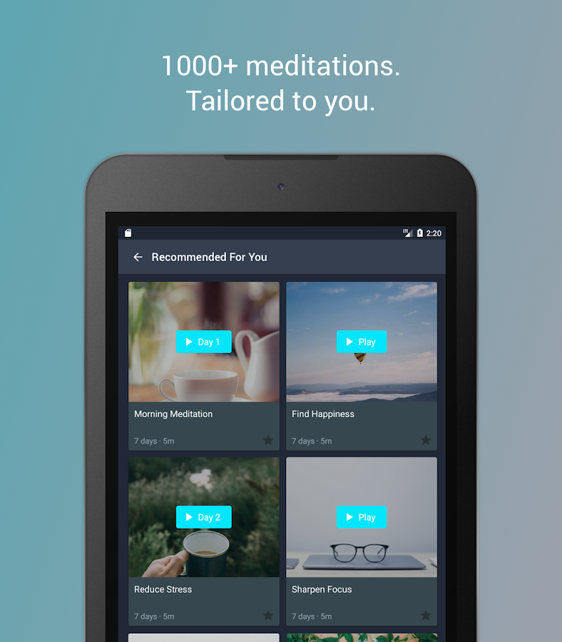 Simple Habit Meditation- screenshot
