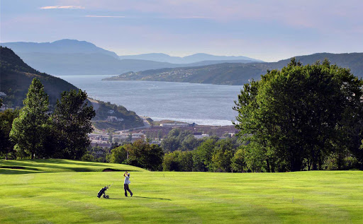 Beautiful views of Humber Arm from Blomidon Golf Course on the western side of Newfoundland.