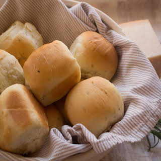 Bread Rolls with Herbs.