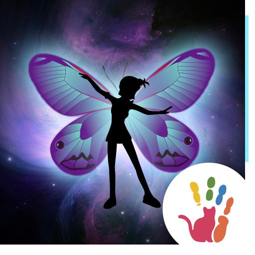 可愛小精靈動態貼紙特效包-魔幻手指动态贴纸插件 程式庫與試用程式 App LOGO-APP試玩