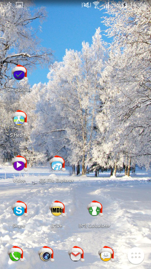 Santa Time Icon Pack- screenshot