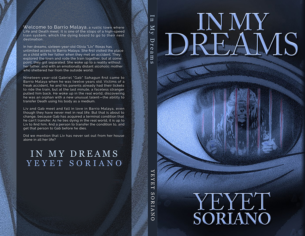 IN MY DREAMS Cover with Blurb