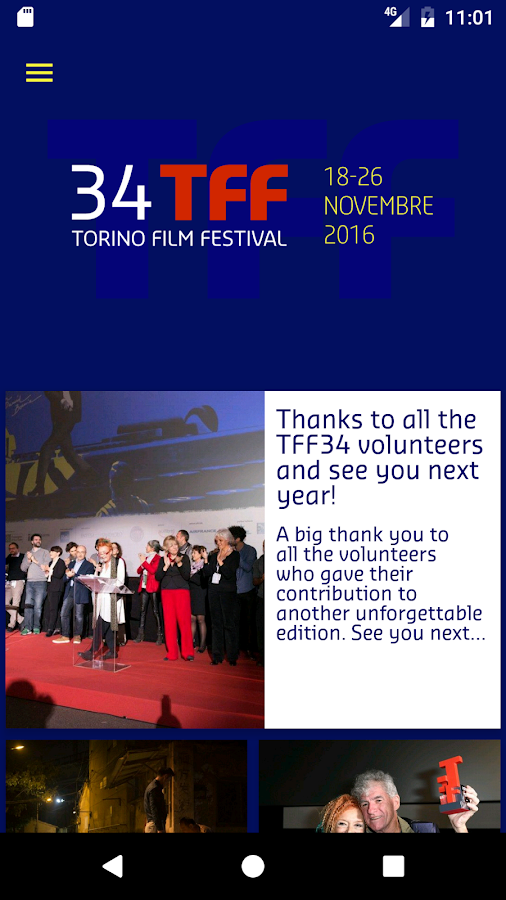 Torino Film Festival- screenshot