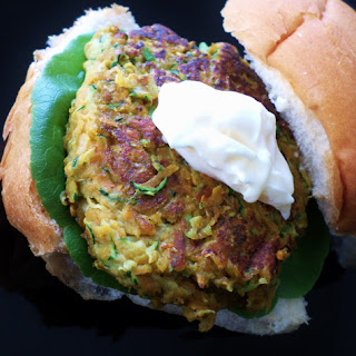Curried Zucchini and Sweet Potato Burgers Recipe