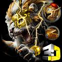 Golden Lion 3D Parallax Launcher Theme 🦁 icon
