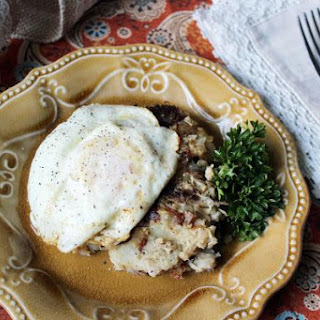 Turkey Hash #1 - Thanksgiving Leftovers.