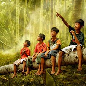 Children of The Nation by Ahay Gart - Babies & Children Children Candids