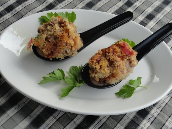 Tomato Bacon Bon Bons With Bacon Taziki Sauce Recipe