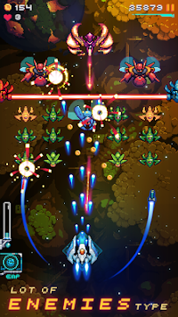 Galaxy shooter : Space attack (Unreleased) APK screenshot thumbnail 9
