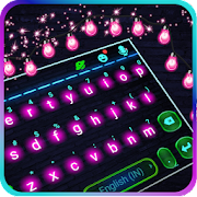 Blinking Neon Light Keyboard Theme
