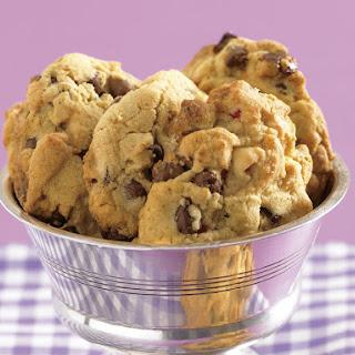 Triple Chocolate Cherry Cookies.