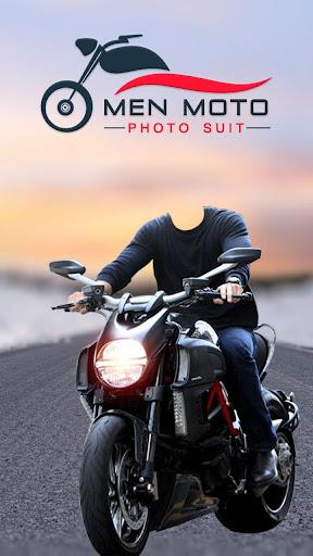 Men Moto Photo Suit : Bike Photo Editor 1.0 screenshots 1