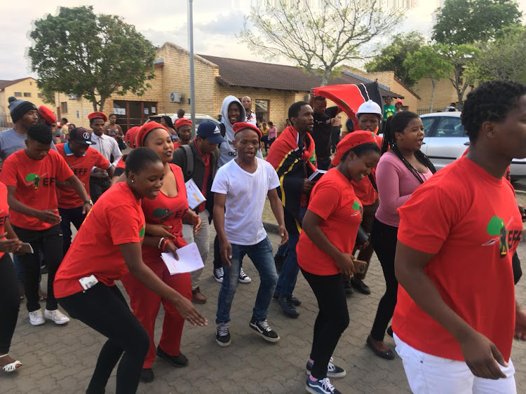 The EFF Student Command (EFFSC) will contest Student Representative Council elections at all four Walter Sisulu University campuses after receiving official recognition earlier this year.