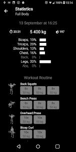 Bodybuilding.Weight Workout v1.21 [Pro][Mod][SAP] 5