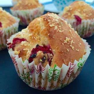 Cranberry, Walnut And Parmesan Muffins