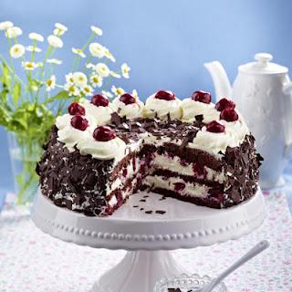 Gluten-Free Black Forest Gateau Cake