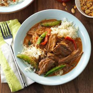 Thai Coconut Beef.