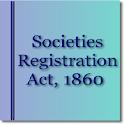 Societies Registration Act1860 icon