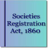 India - The Societies Registration Act 1860