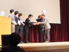 Photo: 特別賞はおせんべい