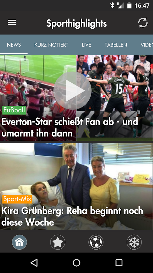 Krone Sport- screenshot
