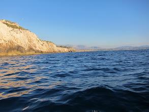Photo: Scogliera di Terrasini dopo Capo Rama verso Trappetto