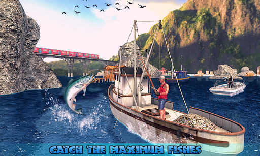 Fishing Ship Simulator 2020 : Fish Boat Game painmod.com screenshots 7