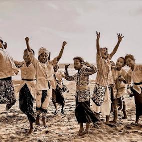 Cheersful Celebration by Agoes Antara - Babies & Children Children Candids