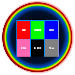 Text Color Puzzle Game Icon