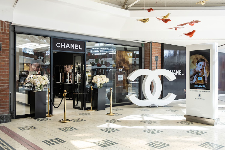 Chanel Fragrance & Beauty boutique at the Waterfront, Cape Town.