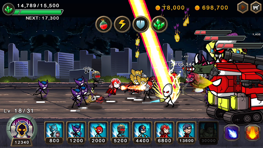 HERO WARS: Super Stickman Defense  screenshots 4