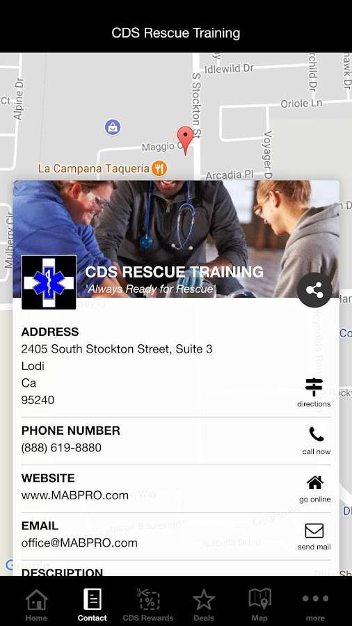 CDS Rescue Training- screenshot